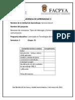 Evidencia 2  - Servicio Social