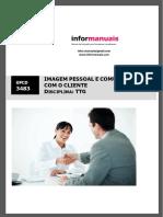 Manual-3483 - Imagem pessoal e comunicação com o cliente