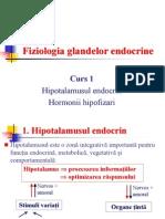 1. Hipotalamusul Endocrin. Hormonii Hipofizari