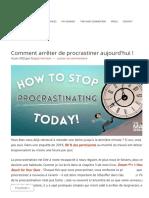 Comment Arrêter de Procrastiner Aujourd'Hui ! _ L'Astronaute Abby (1)