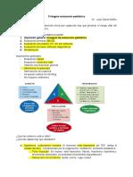 Triángulo evaluación pediátrica