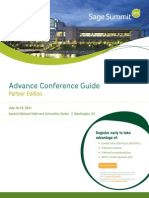 Sage Summit 2011 Partner Guide