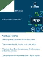 5.- Ortografia Acentuação gráfica - U1