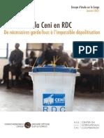 Rapport Final Gec 01 2021 Reforme Ceni Necessaires Garde de Fous Impossible Depolitisation Rdc