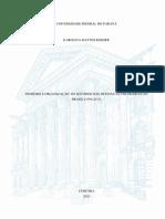 Dinheiro e Organização - Os Sentidos Das Mudanças Partidárias No Brasil (1996-2015)