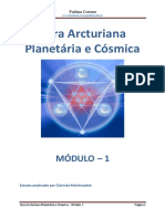 Modulo 1 Cura Arcturiana Planetária e Cósmica