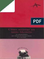 1- Cómo Mejorar Un Texto Literario by Lola Sabarich