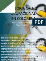 historia de evolucion de salud ocupacional en colombia