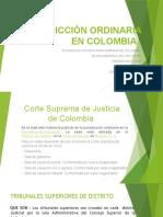 JURISDICCIÓN ORDINARIA EN COLOMBIA