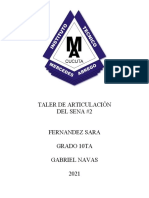 ARTICULACION DEL SENA FERNANDEZ SARA