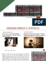 La Misericordia y Justicia de Dios