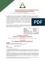 Programa del  X CONGRESO NACIONAL Y  VIII  CURSO INTERNACIONAL DE ALIMENTACIÓN Y NUTRICIÓN