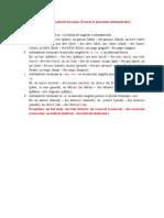 La formation du pluriel des noms (Formarea pluralului substantivelor)