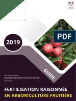 Guide Fertilisation Raisonnee Arbo Ca82 2019 01