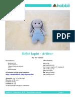 Hobbii Bebe Lapin Arthur Fr