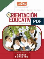 orientación educativa tercero de bachillerato
