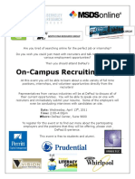 On-Campus Recruiting Day!