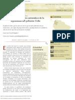 Sobre el fundamento carismático de la legitimidad del gobierno Uribe