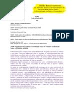 Alexandre - GUIÃO de 24 de junho - Sessão de Encerramento das atividades letivas