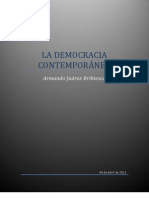 LA DEMOCRACIA CONTEMPORANEA