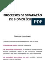 Processos de separação de biomoléculas Scribd