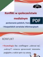 konflikt - prezentacja