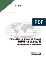 Notifier NFS 3030