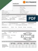 RCI Finance_Procès-Verbal de Restitution_FR
