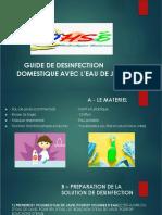 Guide de Désinfection Domestique Avec de l'Eau de Javel