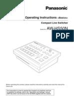AW-HS50N OI Basics-1