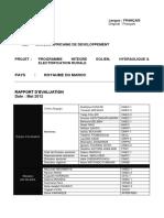 Maroc - Programme Integre Eolien Hydraulique Et Electrification Rurale - Rapport Devaluation de Projet Compressed