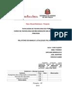4° Relatório - Manejo localizado – Pulverização e Adubação