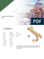 Lingua Italiana - Revisione (A1)