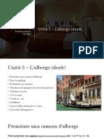 Unità 5 - L'albergo ideale