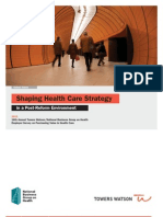 TowersWatson-Shaping Health Care Strategy in a Post-Reform Environment