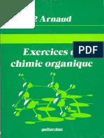 Arnaud, Paul - Exercices de Chimie Organique (1987, Gauthier-Villars)