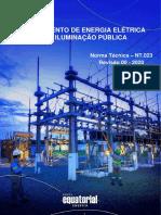 NT.023.EQTL.Normas, Qualidade e Des. de Fornecedores- Fornecimento de Energia Eletrica para Iluminação Pública