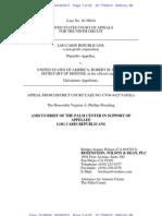 LCR v USA - Amicus Brief Palm Center