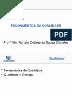 2 - FUNDAMENTOS DA QUALIDADE - 09-03-20