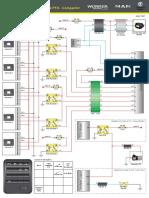MAN T307 - Diagrama Eletrônico Interruptores de Acessórios e PTO    REVISAR FINAL