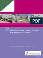 Guide residentialisation