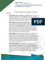 7.PRINCIALES TEORIAS ADMINISTRATIVAS