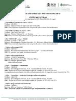 Lista de Serviços de Psicologia