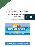Proyecto Playa del Deporte 2019-2020