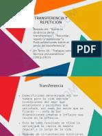TRANSFERENCIA REPETICION TRABAJO ANALITICO