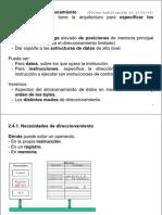 2.5 Modos direccionamiento