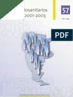 efectos sociosanitarios de la crisis