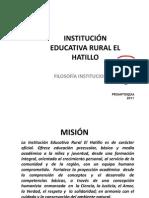 FILOSOFÍA INSTITUCIONAL1DOS