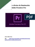 Uso de Los Efectos de Iluminación en Adobe Premiere Pro