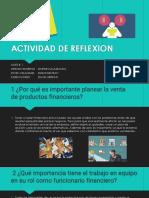 ACTIVIDAD DE REFLEXION